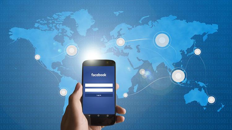 Smartphone Facebook Search