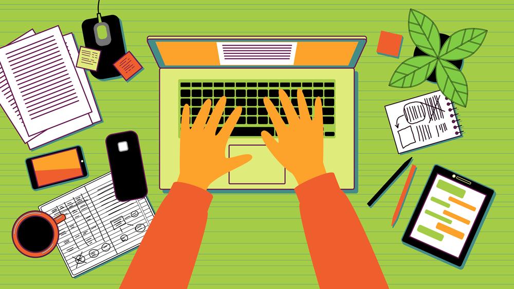 how to write a blog author writing a blog for your garden center