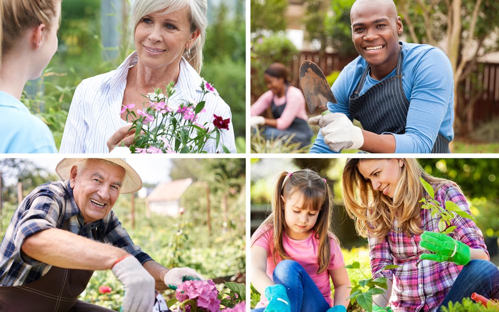 Four personas garden center marketing ideas customer target core DIG